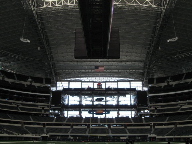 conroe homes -- Cowboy stadium retractable roof