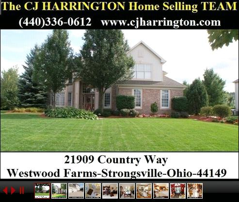 Cleveland Real Estate-21909 Country Way(Strongsville, Ohio 44149)...Call (440)336-0612 or Visit WWW.CJHARRINGTON.COM