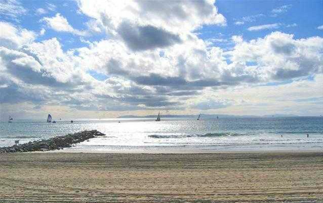 ocean view from Balboa Peninsula
