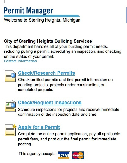 Michigan Building Permit Exemptions
