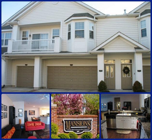 The Mansions condo community of Mason Ohio 45040