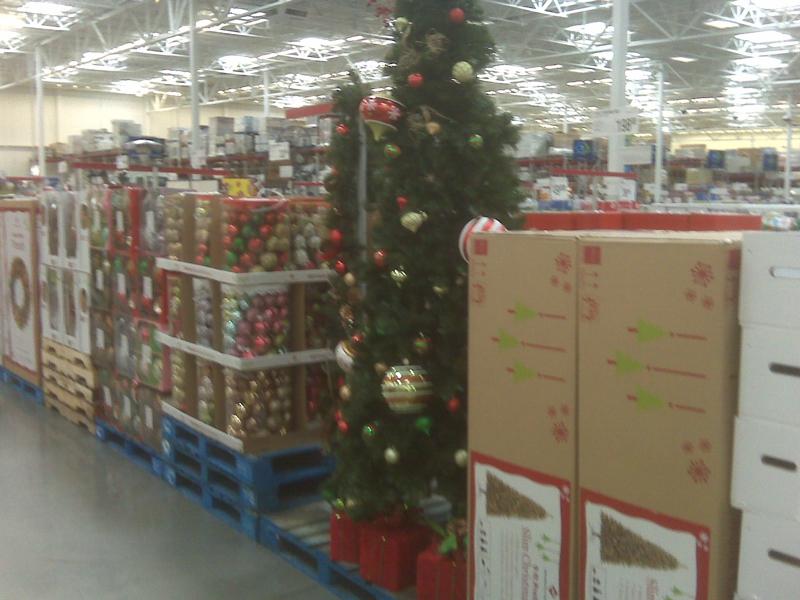 Christmas Stuff On Display Already?