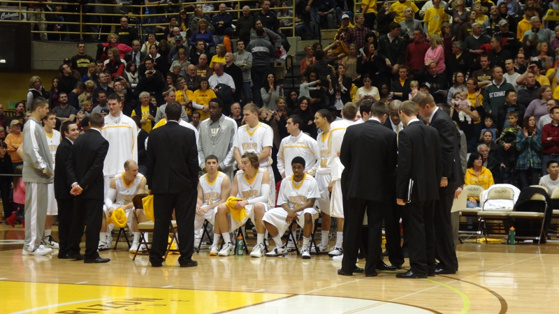 Final Time Out Valpo vs. Butler game 2/24/12