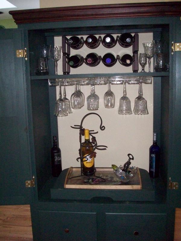 Repurpose Old Tv Armoire