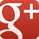 google plus red button