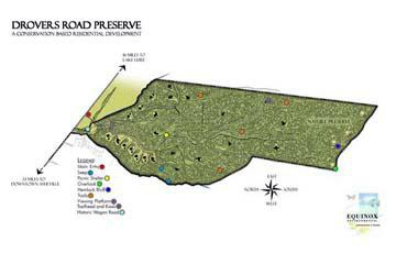 drovers drovers road preserve site- eco-friendly Asheville development