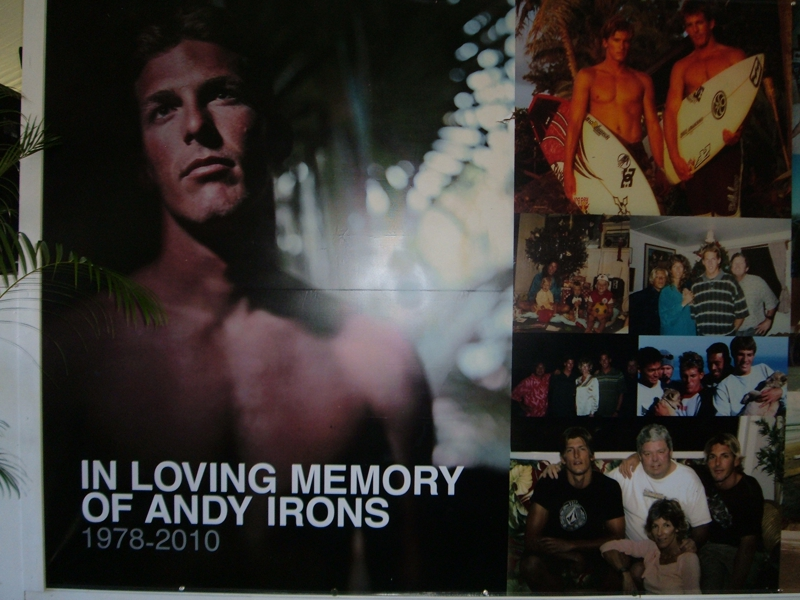 Andy Irons tribute