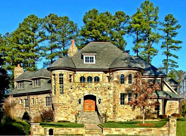 One of the Raleigh, North Carolina area's million dollar plus homes.