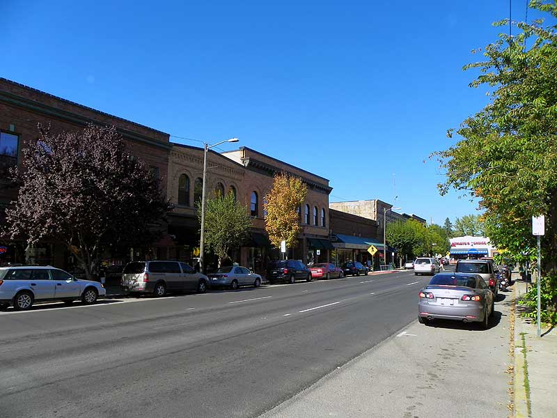 Downtown Sandpoint, Idaho