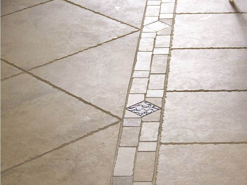 Stone Look Tile Flooring Designs