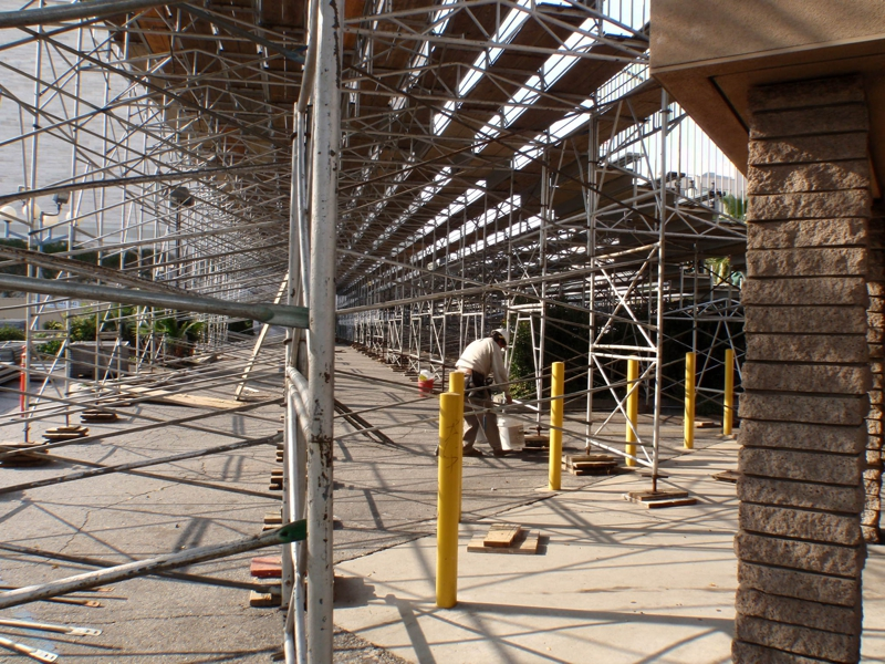 first stands to be erected