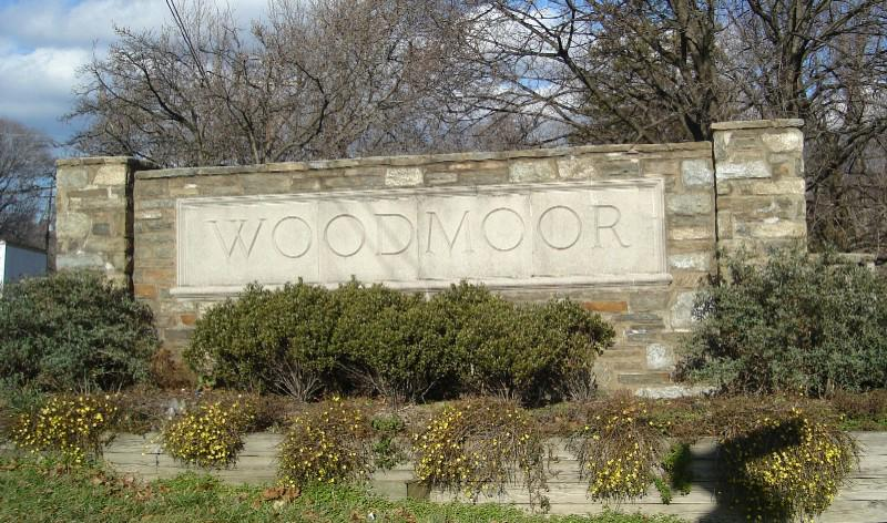Old Colesville Road Entrance to Woodmoor
