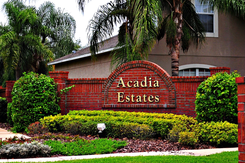 real estate for sale in acadia estates kissimmee florida