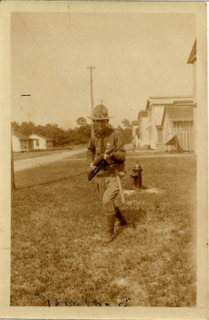 S. Lanier Laing, US Army, World War I