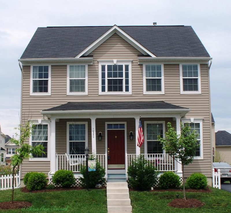 Open house in gainesville saturday may 12 2012 from for Colonial home plans with porches