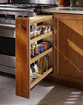 Nice Filler Pull Outs Help Organize Any Space In The Kitchen Triple Drawer  Cabinet   Kitchen Drawer