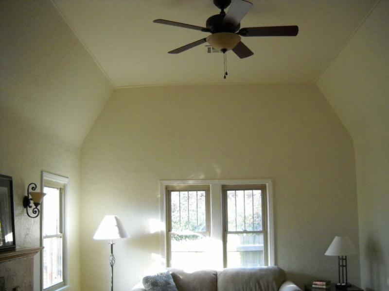Vaulted ceiling in Florence Park bungalow for sale