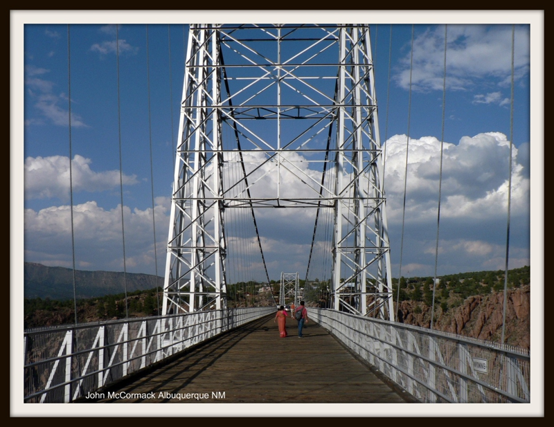 Walk across the Royal Gorge Bridge