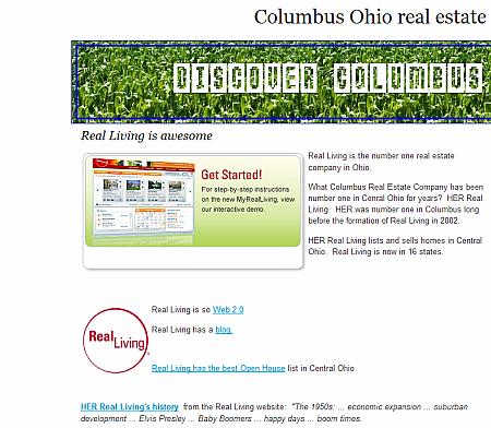 Columbus Ohio real estate 2006