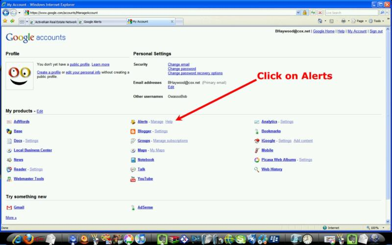 Google Alerts by Bob Haywood