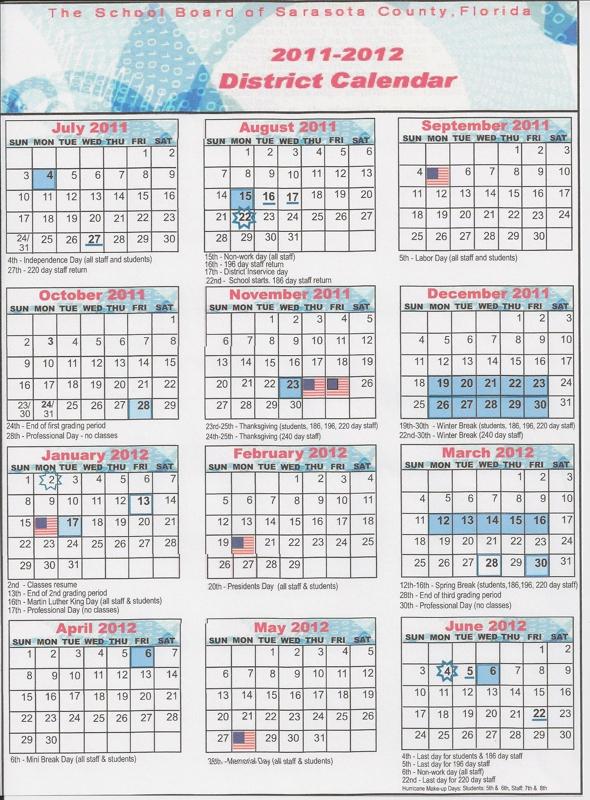 School Calendar   School Hours  Venice Fl