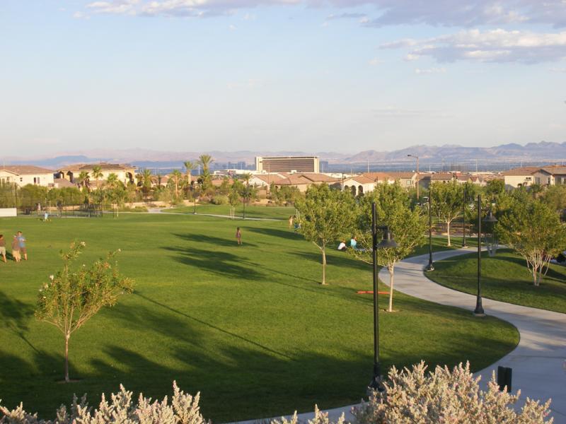 The Paseos Park in Summerlin, Las Vegas, NV