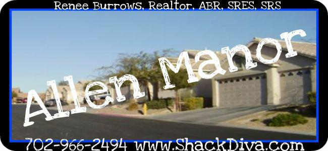 Allen Manor Las Vegas Single Story Community