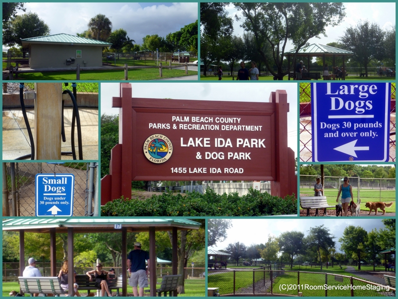 Dog Park At Lake Ida In Delray Beach Palm County S Treat For Dogs