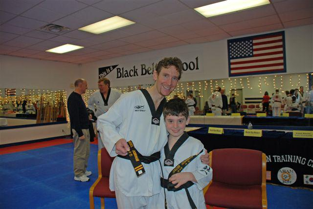 Cleveland newest 2nd degree black belts