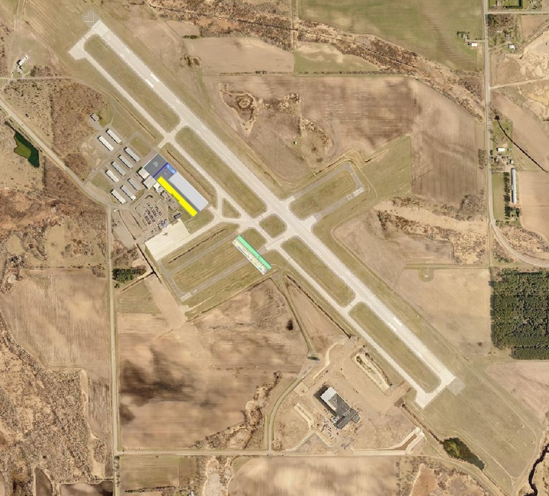 Aerial Image of the St Cloud MN Airport