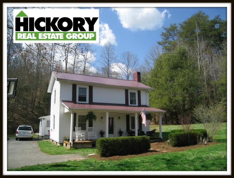Hickory NC Farm House on 4 87 Acres For Sale
