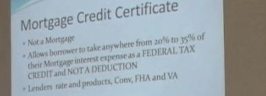 Mortgage Credit for Home Buyers Program from IHCDA.IN.GOV