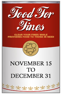 Redwood City Food for Fines Food Drive