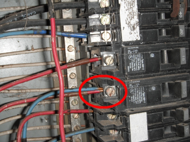 electrical issues found at temecula home inspection. Black Bedroom Furniture Sets. Home Design Ideas