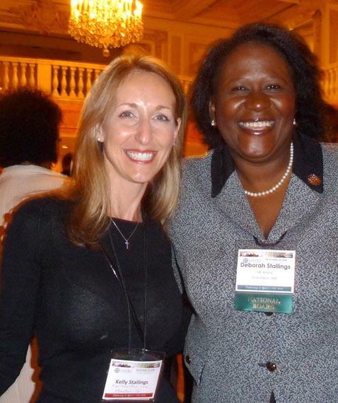 Kelly and Deborah Stallings