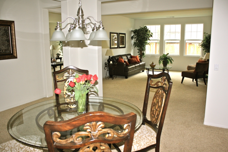 Escondido Home Staging - Dining Room