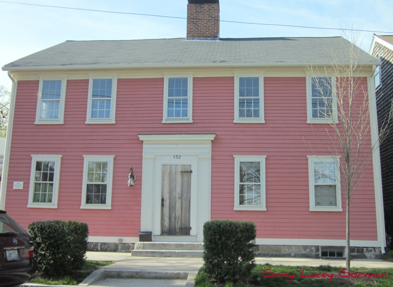 wickford ri historic homes melange of colors - Historic House Colors