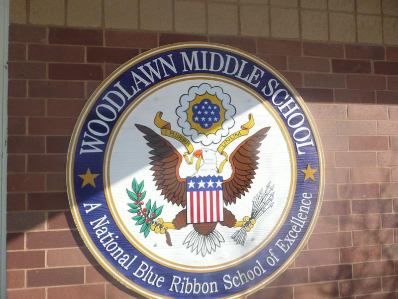 Woodlawn Blue Ribbon award