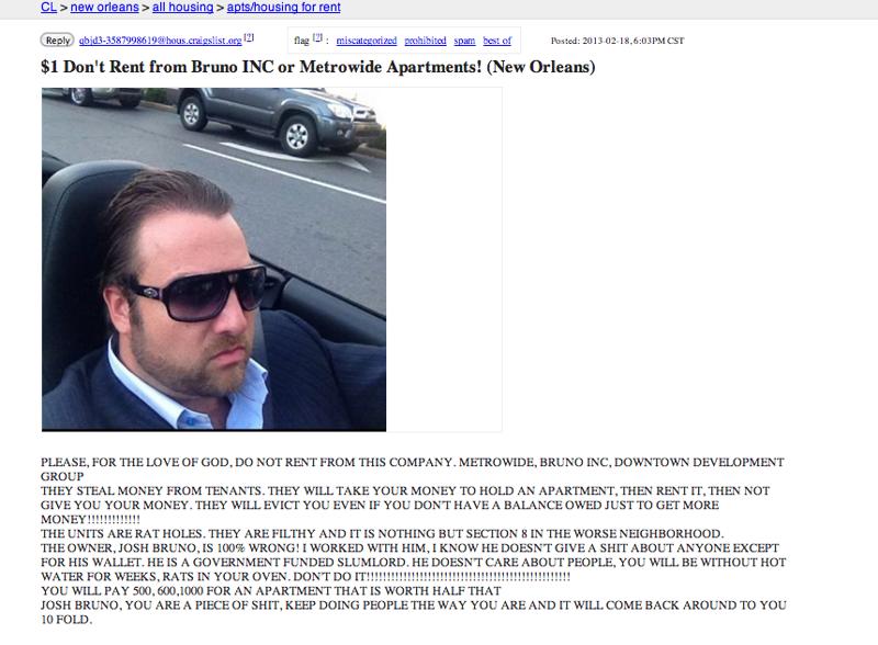 Craigslist en new orleans