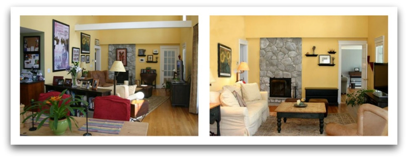 Before And After. Professional Home Stagers ...