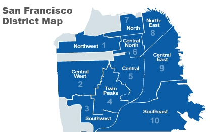 interactive district map of san francisco