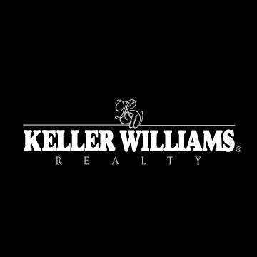 black and white keller williams sign