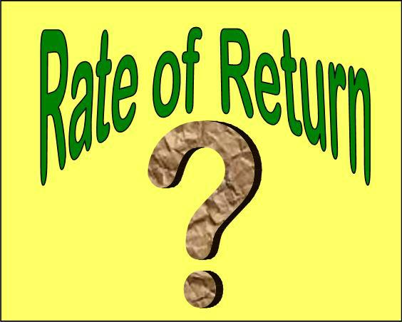 how to find real rate of return