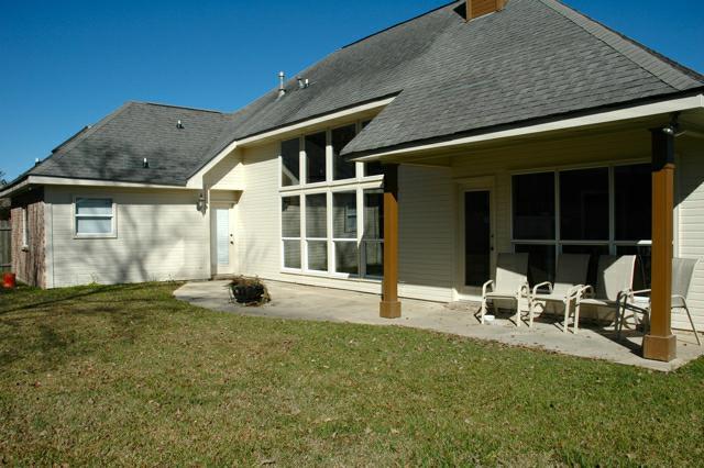 108 Hamlet, Austin Village, Lafayette, LA - patio