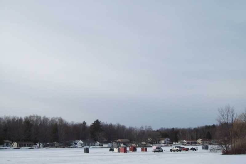 wixom lake ice fishing