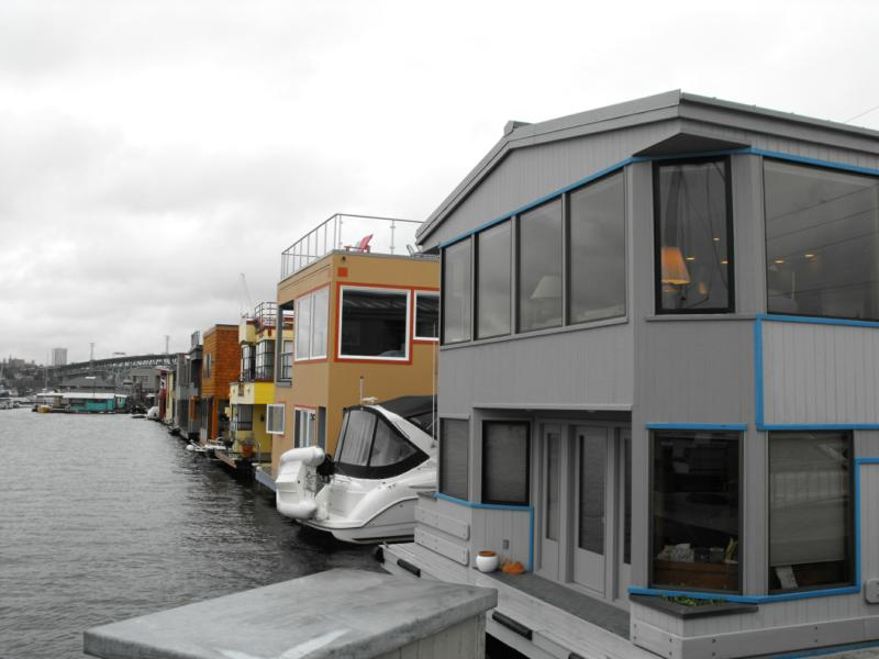 Seattle----land of houseboats