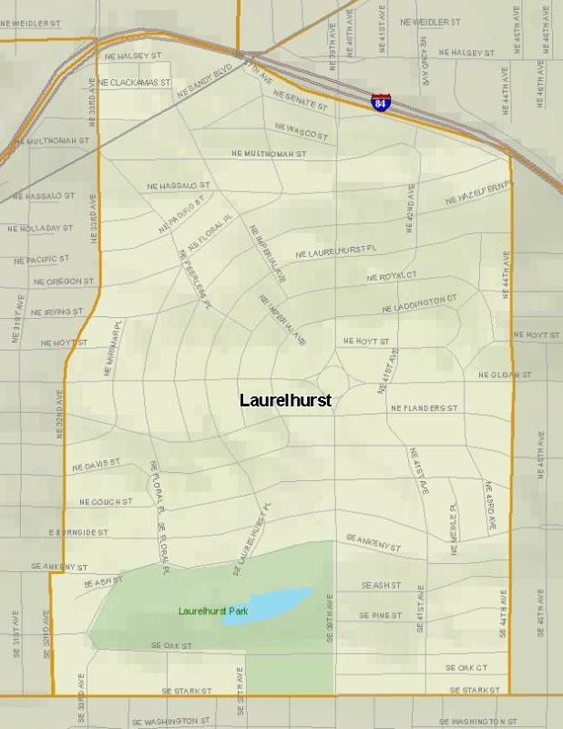 Portland Oregons Laurelhurst Park and Neighborhood