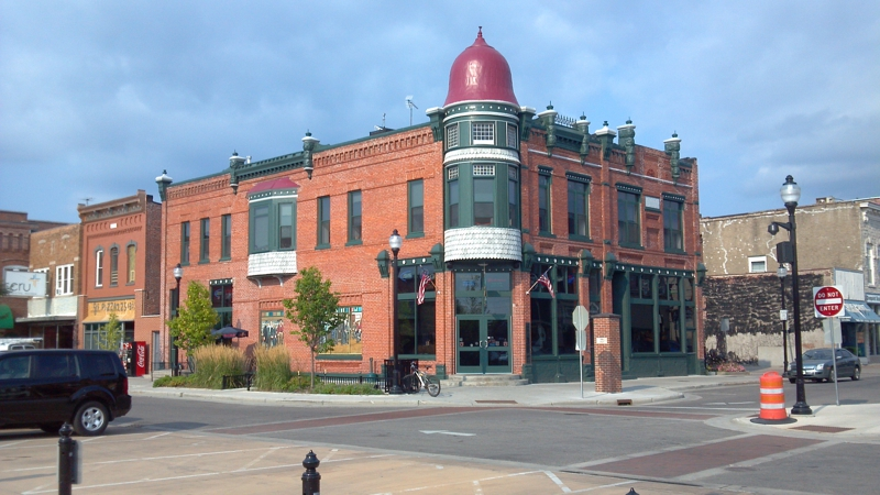 Square in Stevens Point Wisconsin