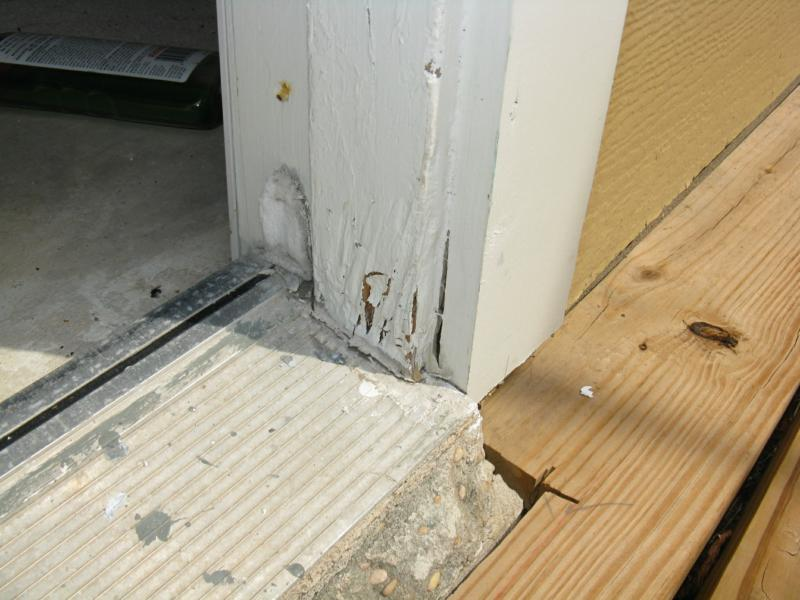 Preventing Water Damage To Doors