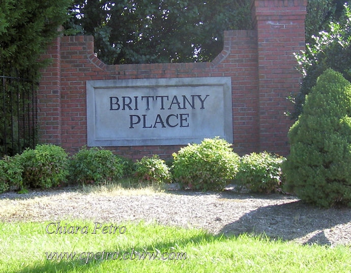Brittany Place entrance